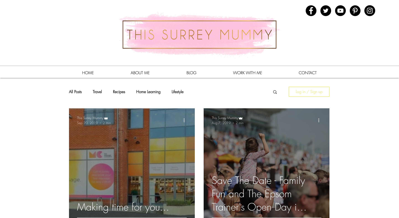 The Surrey Mummy - Influencer