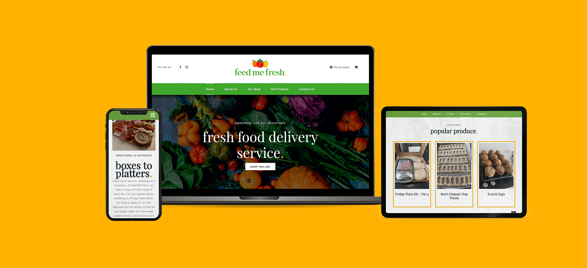 Case Study - Feed Me Fresh - Feature