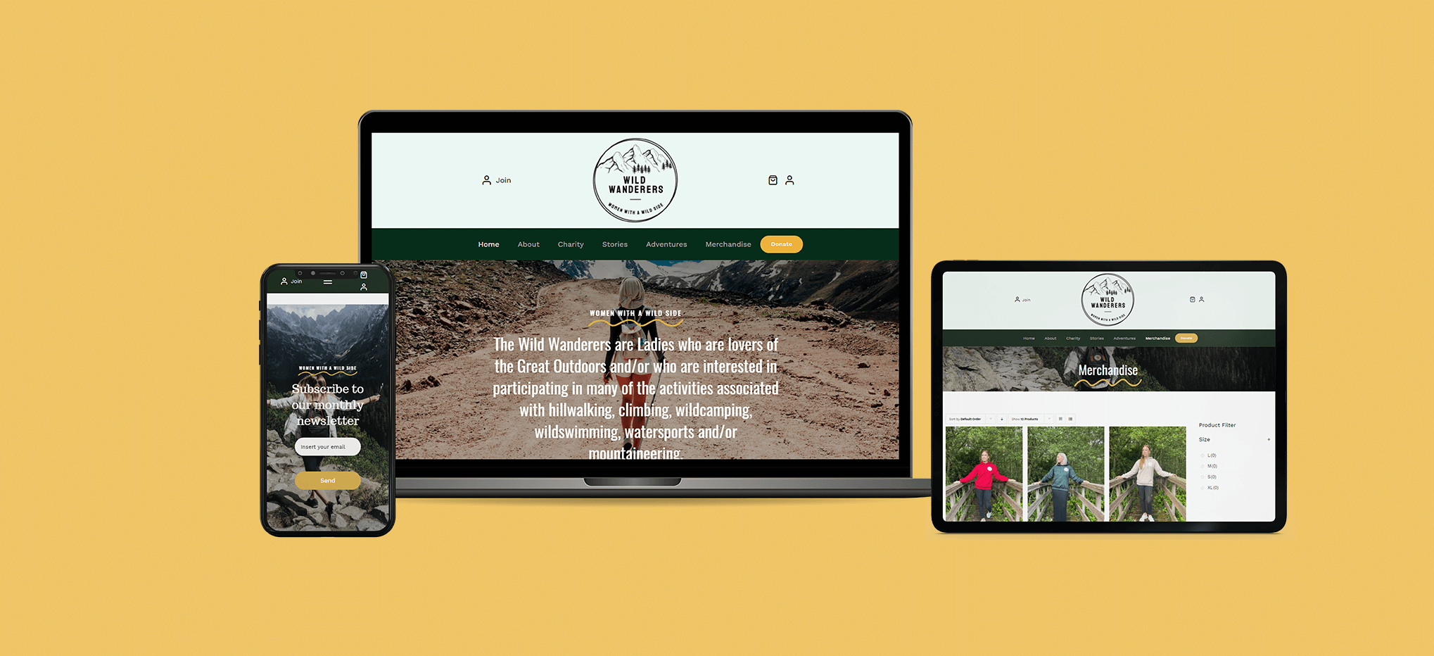 Case Study - Wild Wanderers - Feature