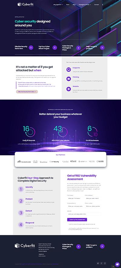 cyberfit uk Website Design Services